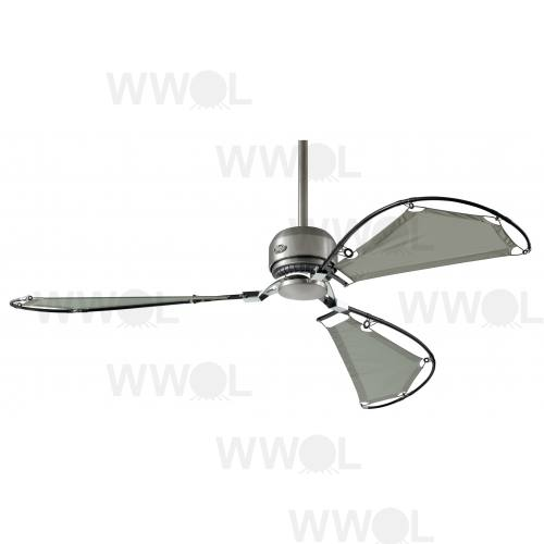 AVALON BRUSHED NICKEL FAN