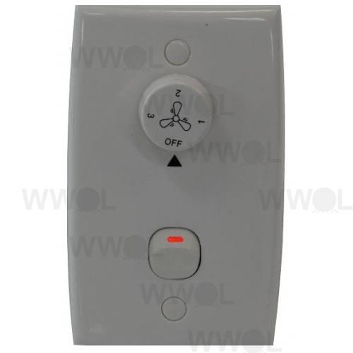 AIR CEILING FAN WALL CONTROL WHITE