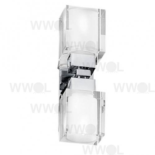 SINTRA 2LT WALL LIGHT 2 X40W G9 CH/SCH