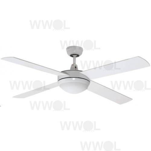 air flight 130cm white with led light ceiling fan