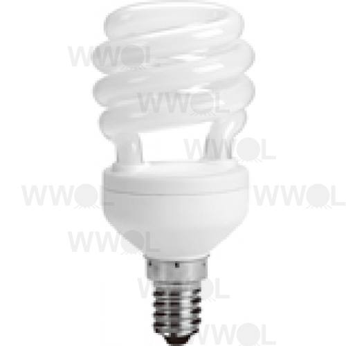 12 WATT T2 SPIRAL E14 WARM WHITE COMPACT FLUORO GLOBE