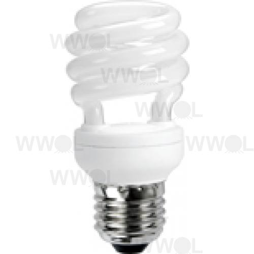 12 WATT T2 SPIRAL E27 COOL WHITE COMpACT FLUORO GLOBE