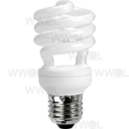 15 WATT T2 SPIRAL E27 WARM WHITE COMPACT FLUORO GLOBE