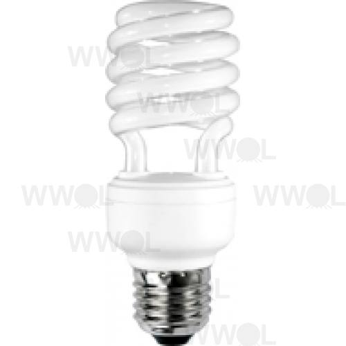 18 WATT T2 SPIRAL E27 COOL WHITE COMPACT FLUORO GLOBE
