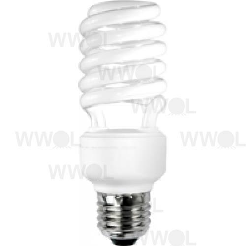 23 WATT T2 SPIRAL E27 WARM WHITE COMPACT FLUORO GLOBE