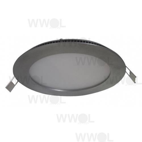 SLIM DOWN LIGHT 24V LED PANEL W/W 8W