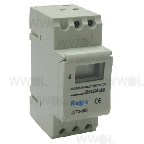 16A 2P 7 DAY DIGITAL TIME SWITCH