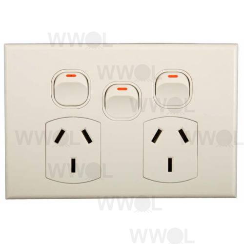 POWER EXTRA SWITCH GEO 10A  HORIZONTAL