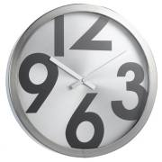 RODA 40 CLOCK ALUMINIUM