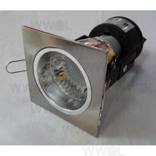MINI DOWNLIGHT SQUARE BRUSHED-CHROME