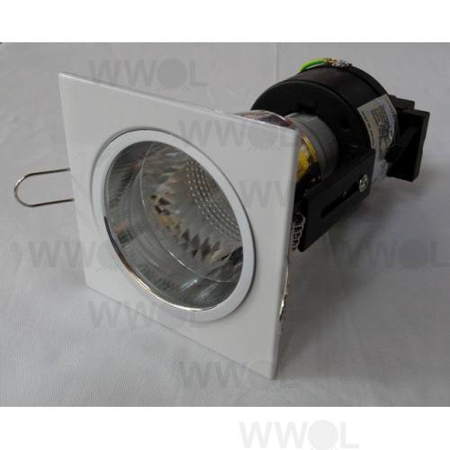 MINI DOWNLIGHT SQUARE WHITE