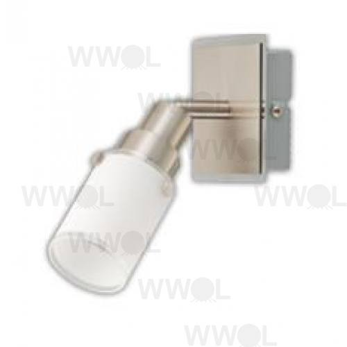 STANLEY 1 LIGHT E14 SPOT LIGHT/ FROST GLASS