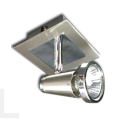 MACKAY 1 LIGHT SPOT SATIN CHROME