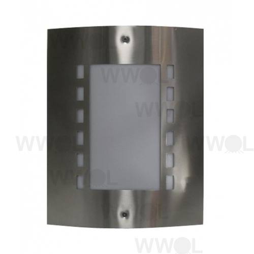 MASK EXTERIOR WALL LIGHT WINDOW FACE STAINLESS STEEL