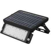 10 WATT LED SOLAR SENSOR EXTERIOR FLOOD LIGHT POLYCARBONATE