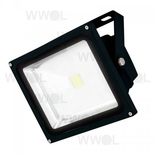 50 WATT COB LED FLOOD LIGHT BLACK