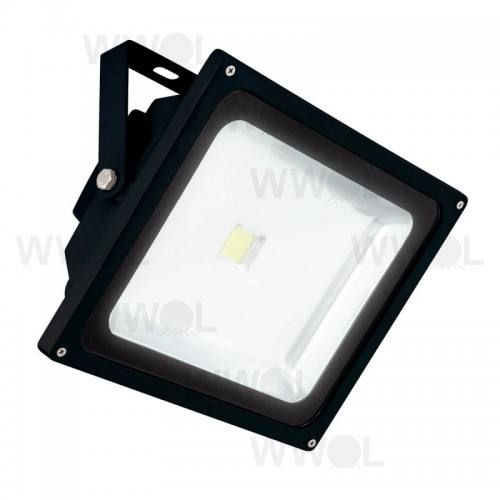 10 WATT COB LED FLOOD LIGHT BLACK