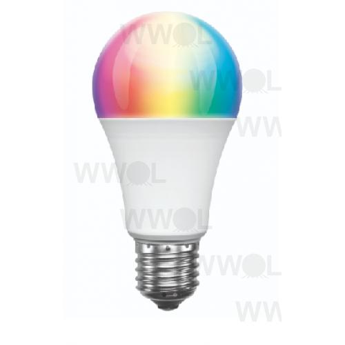 9 WATT A60 E27 LED RGBW SMART WIFI GLOBE