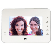 7 INCH TOUCH SCREEN IP AUDIO VISUAL WHITE INTERNAL MONITOR