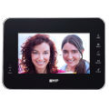 7 INCH TOUCH SCREEN IP AUDIO VISUAL BLACK INTERNAL MONITOR