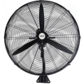 75CM MATT BLACK INDUSTRIAL WALL FAN