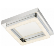 AEGEAN 16 WATT LED CRYSTAL CEILING LIGHT 4000K COOL WHITE