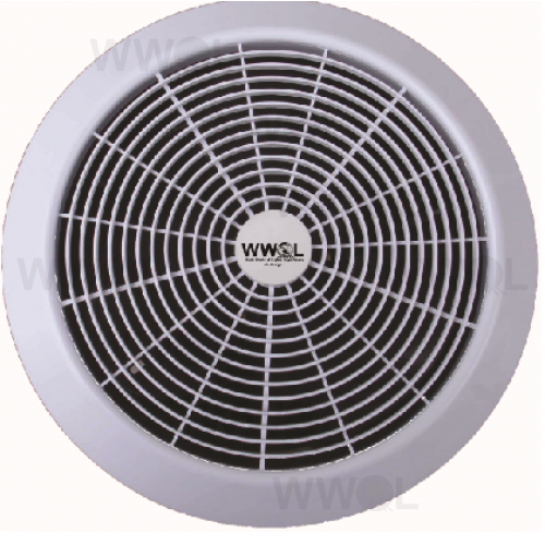 AERATE ENERGY EFFICIENT 200MM EXHAUST FAN ROUND WHITE