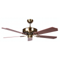 AIR AMALFI CLASSICO 132CM ANTIQUE BRASS 5 BLADE CEILING FAN