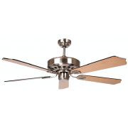 AIR AMALFI CLASSICO 132CM BRUSHED NICKEL 5 BLADE CEILING FAN