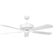 AIR AMALFI CLASSICO 132CM WHITE 5 BLADE CEILING FAN