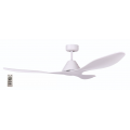 AIR APACHE 130CM MATT WHITE DC CEILING FAN INC 5 SPEED REMOTE