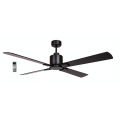 AIR ELITE II DC MATT BLACK 4 BLADE CEILING FAN INC REMOTE