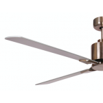 AIR ELITE II DC BRUSHED NICKEL 4 BLADE CEILING FAN INC REMOTE