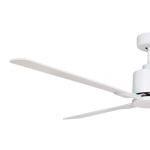 AIR ELITE II DC MATT WHITE 4 BLADE CEILING FAN INC REMOTE