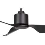 AIR ELITE II DC MATT BLACK 3 ABS BLADE CEILING FAN INC REMOTE