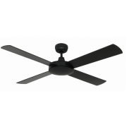 AIR FLIGHT 130CM MATT BLACK CEILING FAN