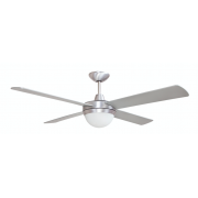 AIR FLIGHT II 106CM BRUSHED ALUMINIUM WITH TWO LIGHT CEILING FAN
