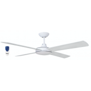 AIR FLIGHT II 106CM MATT WHITE CEILING FAN REMOTE PACKAGE