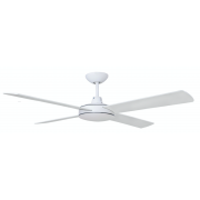 AIR FLIGHT II 130CM MATT WHITE + ABS BLADE CEILING FAN