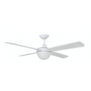 AIR FLIGHT II 120CM MATT WHITE WITH TWO LIGHT CEILING FAN