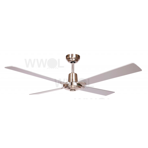 AIR GLIDE II 120CM CEILING FAN 4 BLADE BRUSHED NICKEL