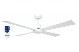 AIR GLIDE II 120CM CEILING FAN 4 BLADE WHITE INCLUDING REMOTE PACKAGE