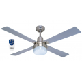 AIR GLIDE 120CM CEILING FAN LIGHT AND REMOTE SILVER