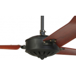 AIR ORLEANS 132CM SANDY BLACK INCL ROSEWOOD BLADES CEILING FAN
