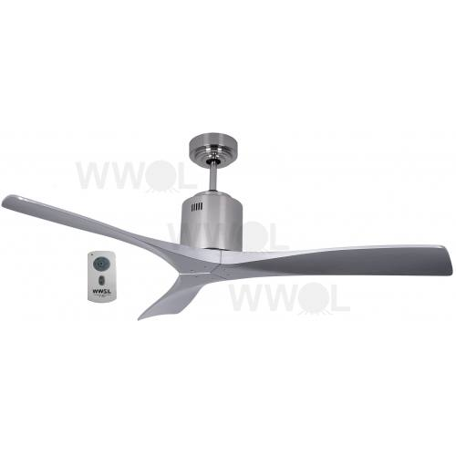 AIR SPAN 130CM DC SILVER CEILING FAN INC REMOTE