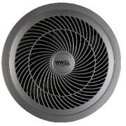 AIR VENT 250MM ROUND HIGH AIR MOVEMENT EXHAUST FAN SILVER