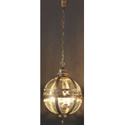 AMALFI SMALL BRONZE THREE LIGHT PENDANT