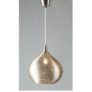 AMSTEL LARGE SILVER PENDANT
