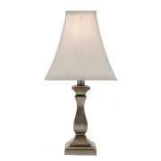 ARMEN ANTIQUE SILVER TABLE LAMP