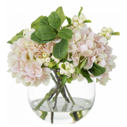 Arrangement Hydrangea Light Pink